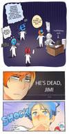 He's dead, Jim! by Cioccolatodorima