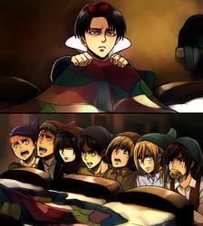 Levi and the Special Operations Squad by Cioccolatodorima