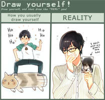 Draw Yourself Meme by Cioccolatodorima