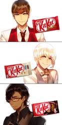 Mr. KitKat Series(1) by Cioccolatodorima