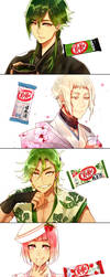 Mr. KitKat Series(3) by Cioccolatodorima