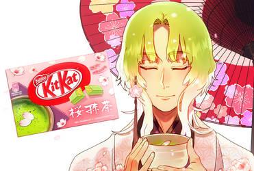 Mr. KitKat Series: Sakura Matcha by Cioccolatodorima