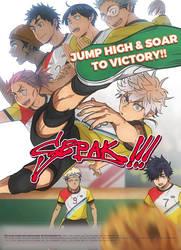 Sepak Takraw Anime!? by Cioccolatodorima