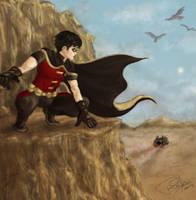 Robin in Bialya by thINKgazer