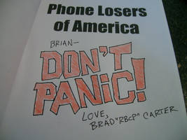 Don't Panic by rbcp