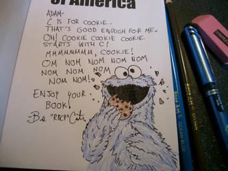 Cookie Monster Om nom nom nom by rbcp