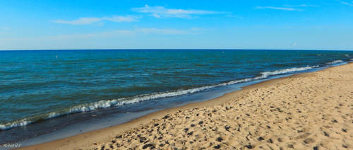 pretty beach shot from Indiana by gamersphotography