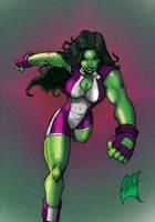 She-Hulk by J-Onix
