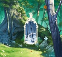 miroir des saisons by naiiade