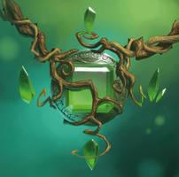 amulette de terre by naiiade