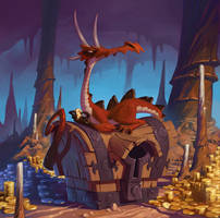 dragonnet avaricieux by naiiade