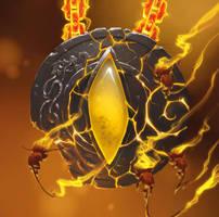 amulette de feu by naiiade