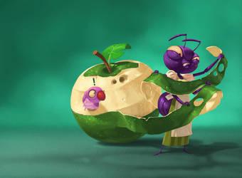 apple by naiiade