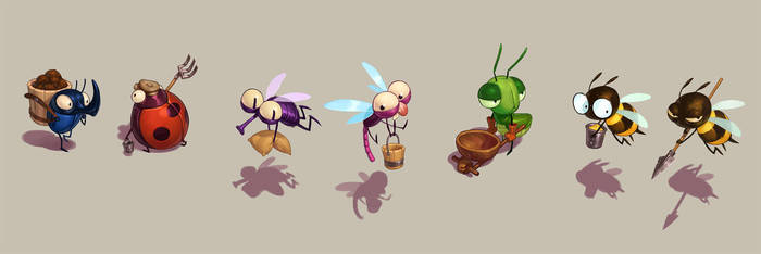 Insects by naiiade