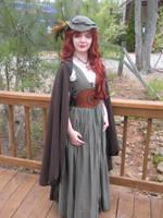 Renee in knotwork cincher by stevilart