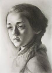 Arya Stark - (Maisie Williams) - Game of Thrones by bobamaximkin