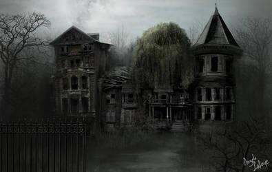 ghost-house by lafa-art