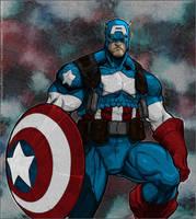 Captain America by PokeTheCactus