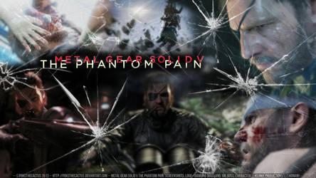 - Metal Gear Solid V The Phantom Pain Wallpaper - by PokeTheCactus