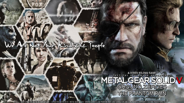 Not Your Kind Of People - MGSV Wallpaper by PokeTheCactus
