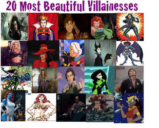 20 Most Beautiful Villainesses by theaven