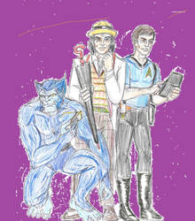 3 Doctor McCoys by theaven
