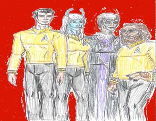 Pike era Star Trek by theaven