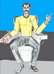 Star Trek OC Captain Jackson LaForge by theaven