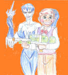 Killer frost and Toyman 2 by theaven