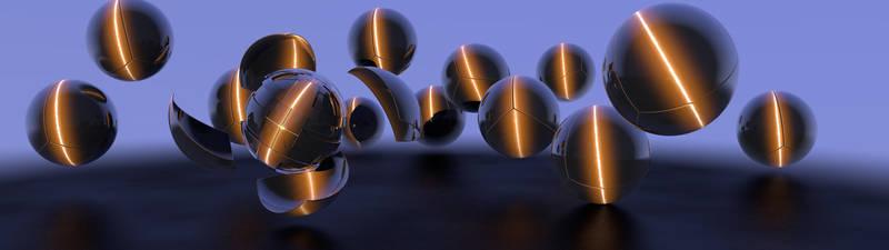 Dual Screen Armour Ball by minimacmaniac