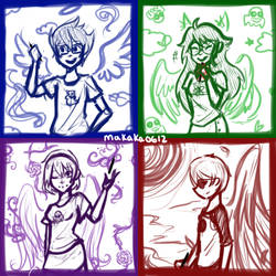 Crayon Time :D by makaka0612