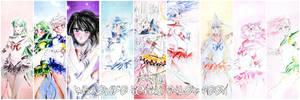 Sailor moon - Bishoujo senshi sailor moon by zelldinchit