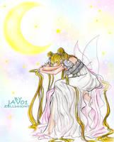 serenity - (sailor moon ) sad melody by zelldinchit