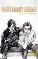 Rick and Daryl  TWD- season 4 - Brothers Grixon by zelldinchit