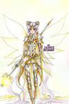 Sailor Moon - Divine Armor by zelldinchit
