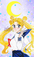 usagi tsukino -sailor moon - Bunny is back by zelldinchit
