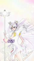 sailor moon - sailor cosmos by zelldinchit