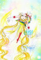 sailor moon - butterfly wings by zelldinchit