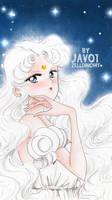 sailor moon - serenity  the princess of moon by zelldinchit