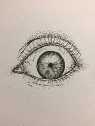 Fineliner eye #1 by CadenBerwick