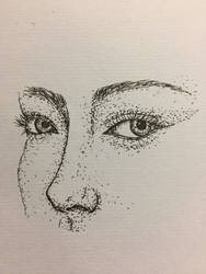 Fineliner Facial forms #1 by CadenBerwick