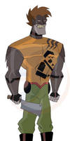 Bear Peon - Brigadier Crenshaw by JTSEntertainment