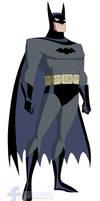 Batman (First Costume) - Batman: TAS by JTSEntertainment