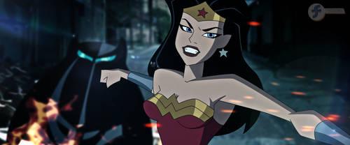 Batman v Superman DCAU - Wonder Woman by JTSEntertainment