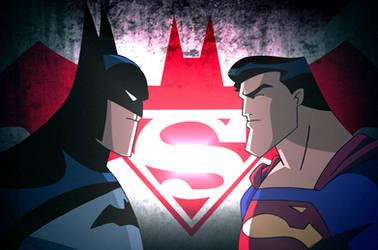 Batman v Superman - DCAU Face-Off by JTSEntertainment