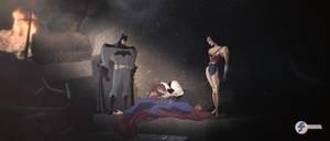 Death of Superman - JL Fan Art Contest Entry by JTSEntertainment