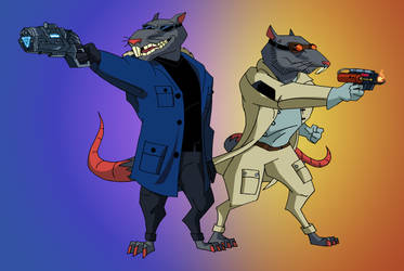 Rats of Tomorrow   COMMISSION by JTSEntertainment