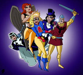 Liberty Belle Joins the League   COMMISSION by JTSEntertainment