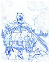 SKRATCHADAY Best: Dark Knight by thejeremydale