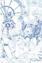 Birds of Prey for C2E2 by thejeremydale